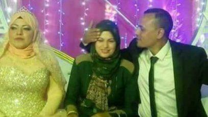 Жена пришла на свадьбу мужа