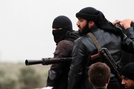 Боевики «Джебхат ан-Нусры»