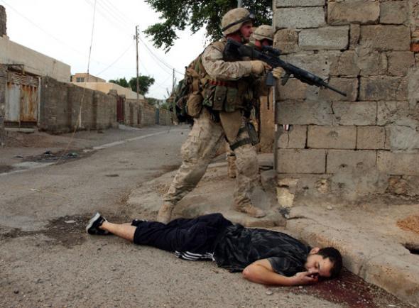 Американские силовики в Ираке