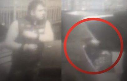 Опубликованы кадры жестокого убийства уроженца Чечни экс-полицейским в Москве