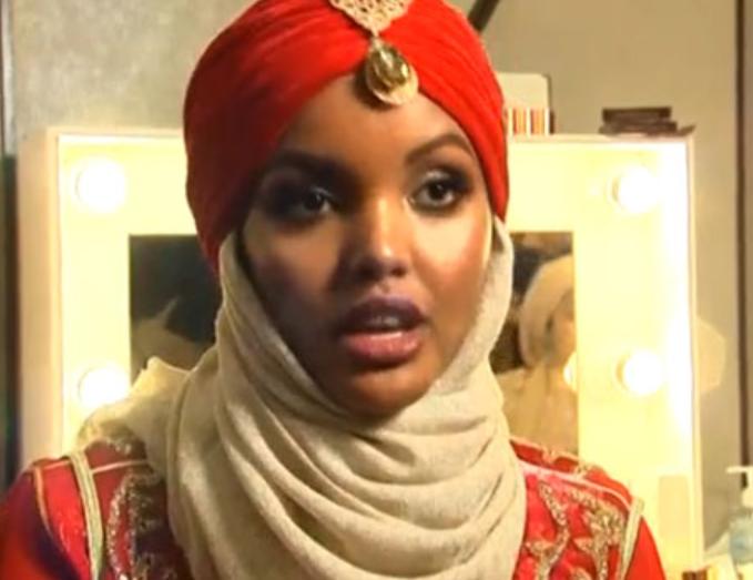 Супермодель в хиджабе ошеломляет красотой
