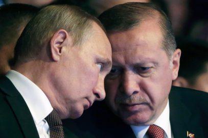 Путин и Эрдоган обсудили происходящее в Сирии