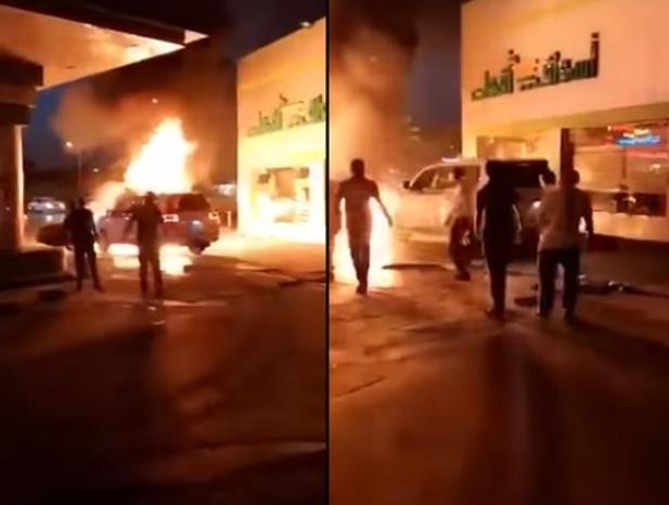 Саудовец поразил находчивостью в смертельной ситуации