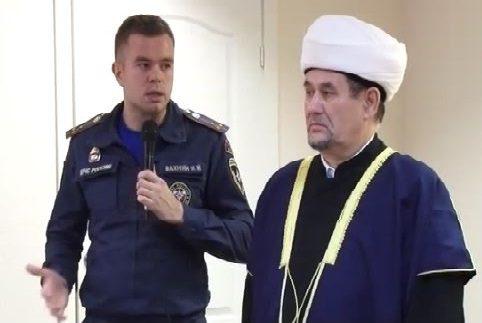Мусульмане Коми применили Сунну после страшного пожара (ВИДЕО)