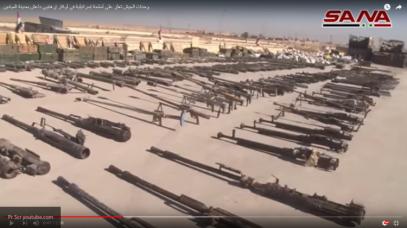 Сирийская армия захватила крупнейший склад ИГИЛ с оружием НАТО