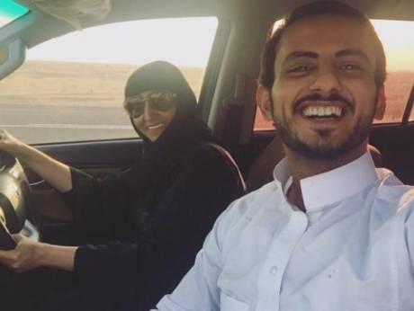 Сын и мать за рулем