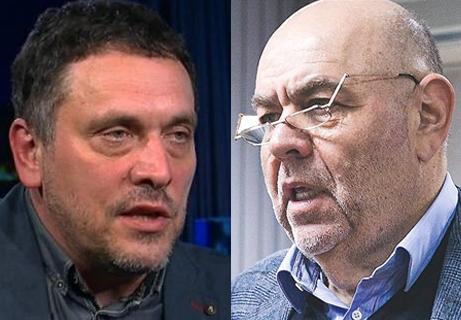 Максим Шевченко и Юрий Каннер