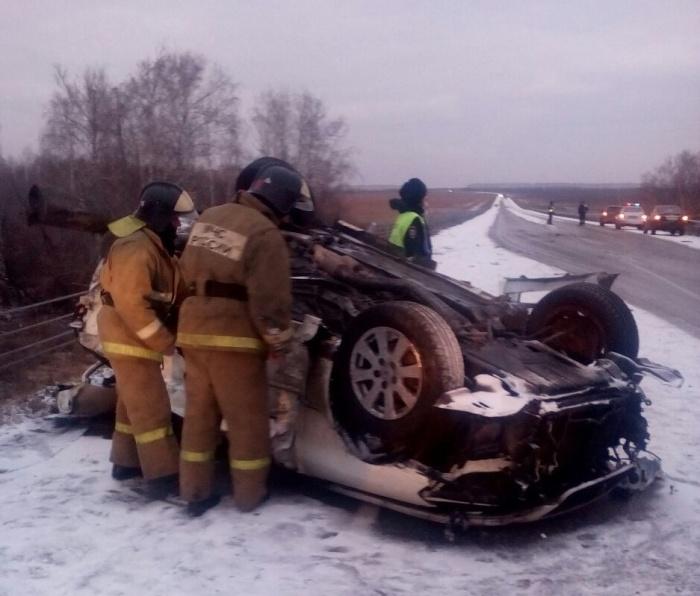 Водитель и пассажиры Toyota погибли на месте