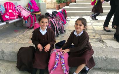 Палестинская школа получила долгожданный подарок из России