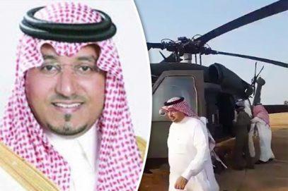Саудовский принц разбился на вертолете