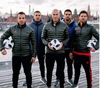 Зинедин Зидан раскручивает российский чемпионат мира по футболу 2018 года