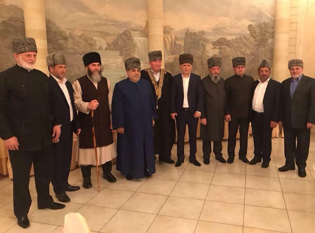 Руководители ДУМ Северного Кавказа