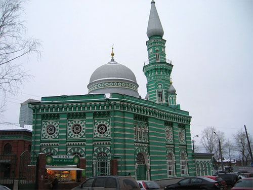 Историческая мечеть Перми