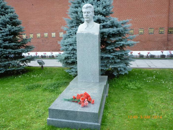 Место захоронения Сталина