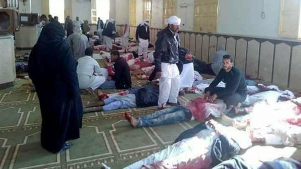 Кровавый теракт в Египте. Более 300 прихожан погибли в результате атаки на мечеть