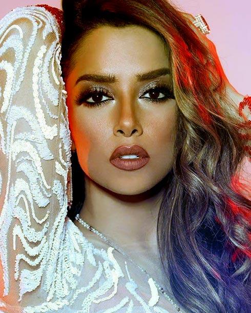 Балкис Фатхи - эмиратская певица йеменского происхождения