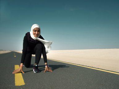 Женщина в хиджабе совершила невозможное