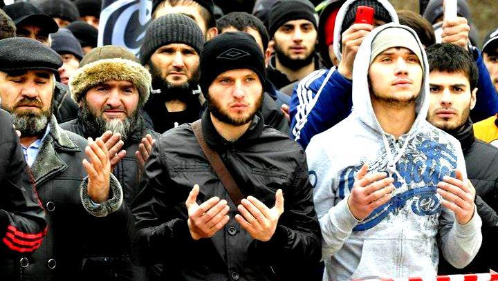 Кавказцы составляют значительную часть прихожан