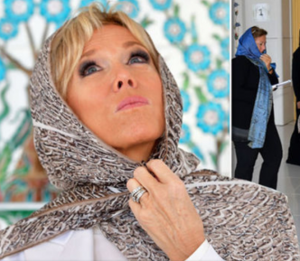 Первая леди Франции надела хиджаб