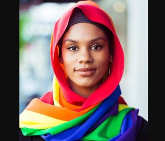 Хиджаб в стиле ЛГБТ вызвал недоумение мусульман