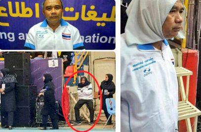 Мужчине пришлось надеть хиджаб на стадионе в Иране – зачем?