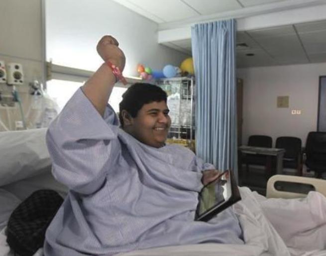 Халид в процессе лечения