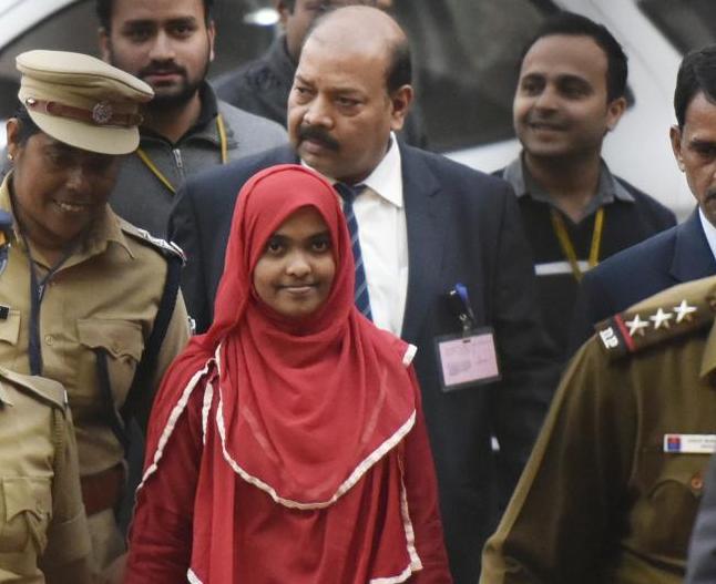 Хадия после вынесения судебного решения