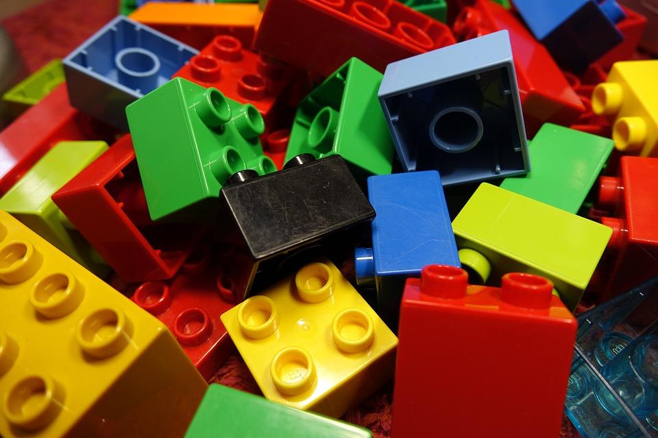 Лего — радость для малыша