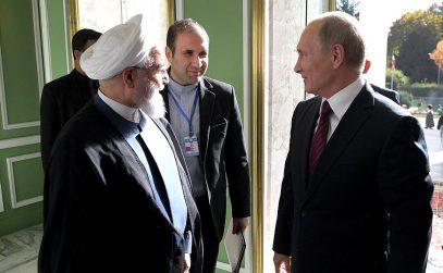 Роухани на встрече с Путиным озвучил намерения Ирана
