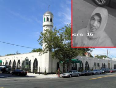 Ху из Ху? Серийный вандал-исламофоб попался «тепленьким»