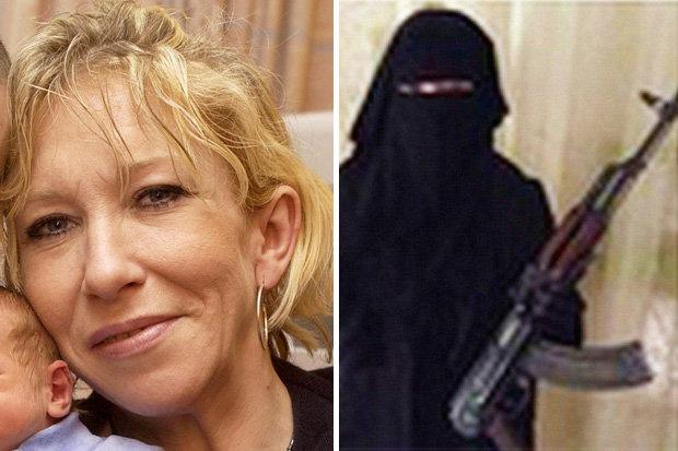 Салли Джонс до и после отъезда в Сирию