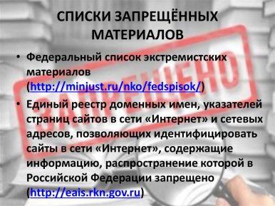 Список запрещенных материалов снова пополнился мусульманским контентом