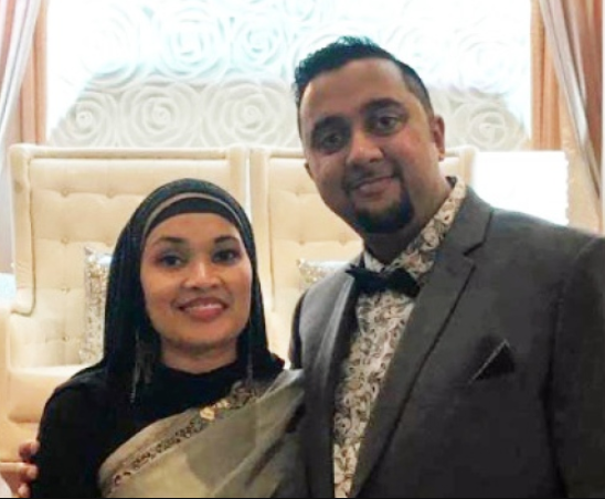 Имран и его супруга
