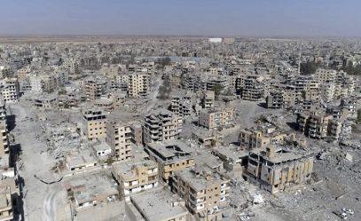 Минобороны России: США стерли Ракку с лица земли