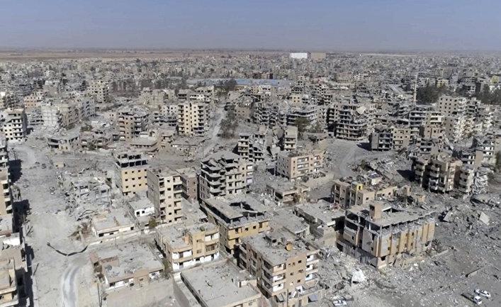 Ракка в руинах