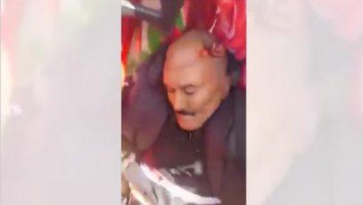 Появилось видео с телом убитого экс-президента Йемена
