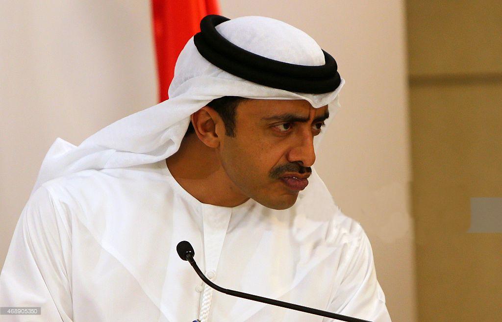 Глава МИД ОАЭ Абдалла бен Зейид Аль-Нахайян