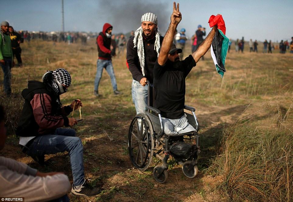 Израильский снайпер расстрелял безногого палестинца