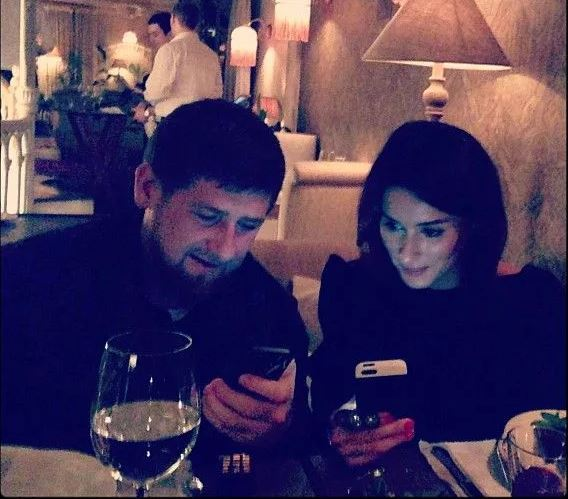 Фото из инстаграма Кадырова