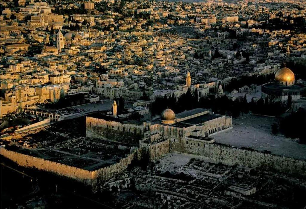 Панорама мечети Аль-Акса