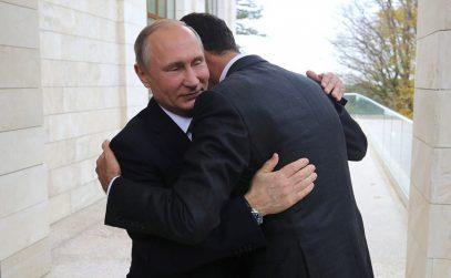 Путин прилетел к Асаду в Сирию (ВИДЕО)