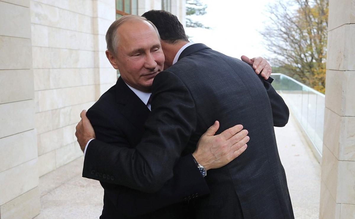 20 ноября Путин и Асад встретились в Сочи