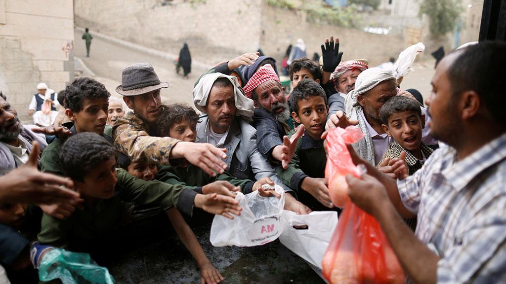 В Йемене холера и голод