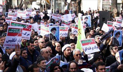 Власти Ирана вывели на улицы своих сторонников