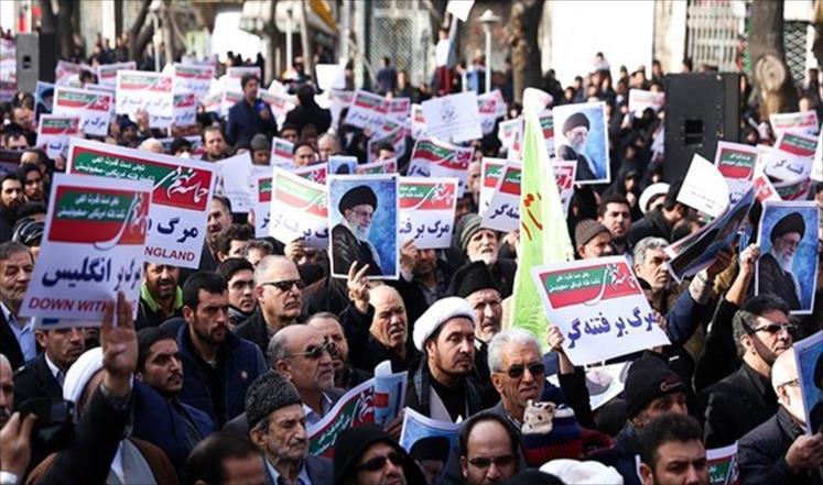 Сторонники действующей власти в Иране