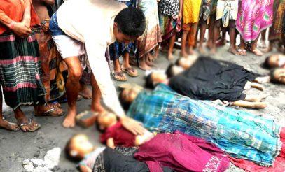 Озвучены жуткие данные о погибших в Мьянме мусульманах-рохинья