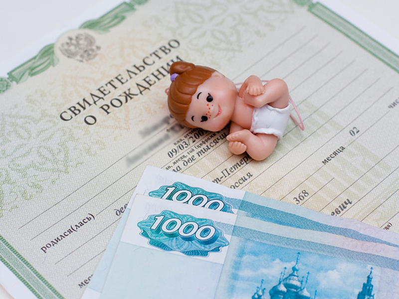 В России принят закон о ежемесячных выплатах при рождении первого ребенка