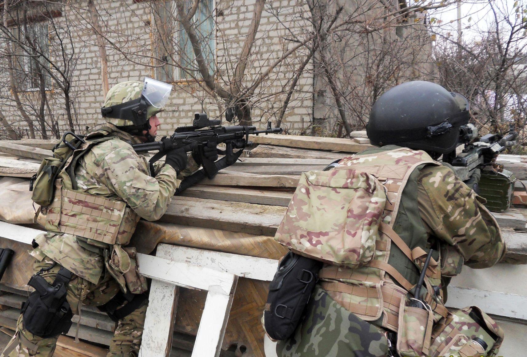 Сотрудники спецслужб в Дагестане