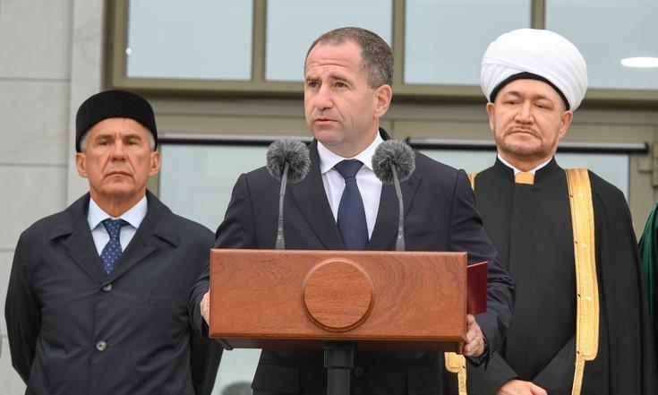 Выступление Бабича на открытии исламской академии