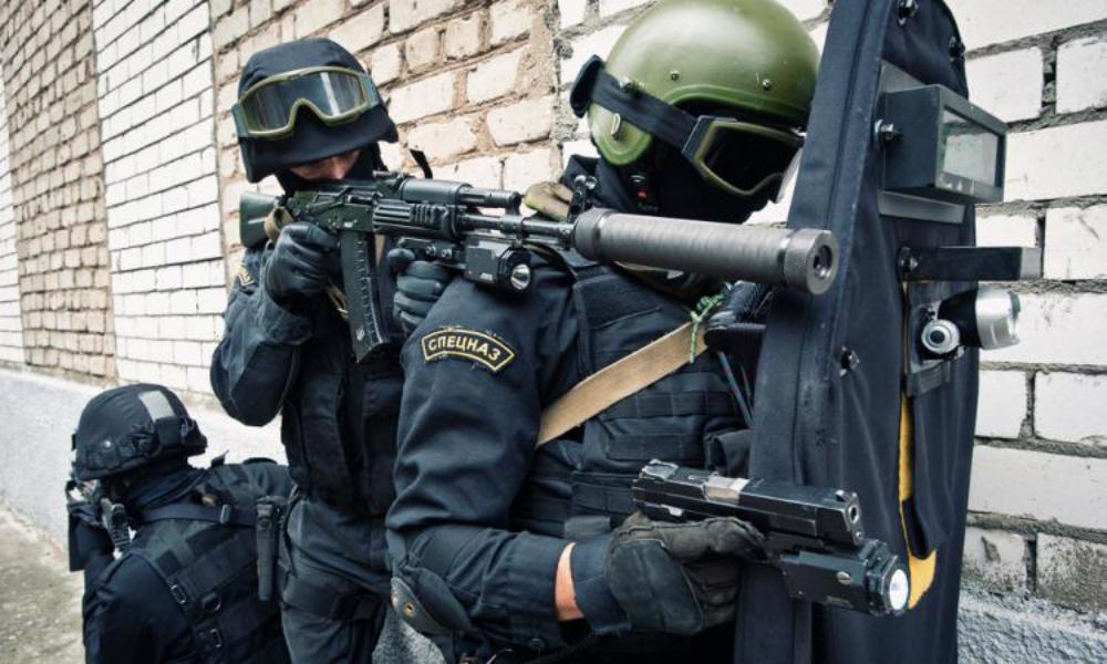 Бойцы спецназа в Дагестане